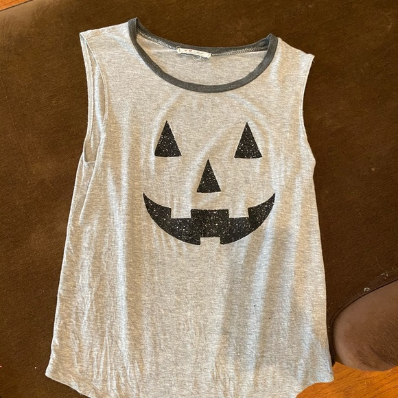 Halloween Glitter Tank Top